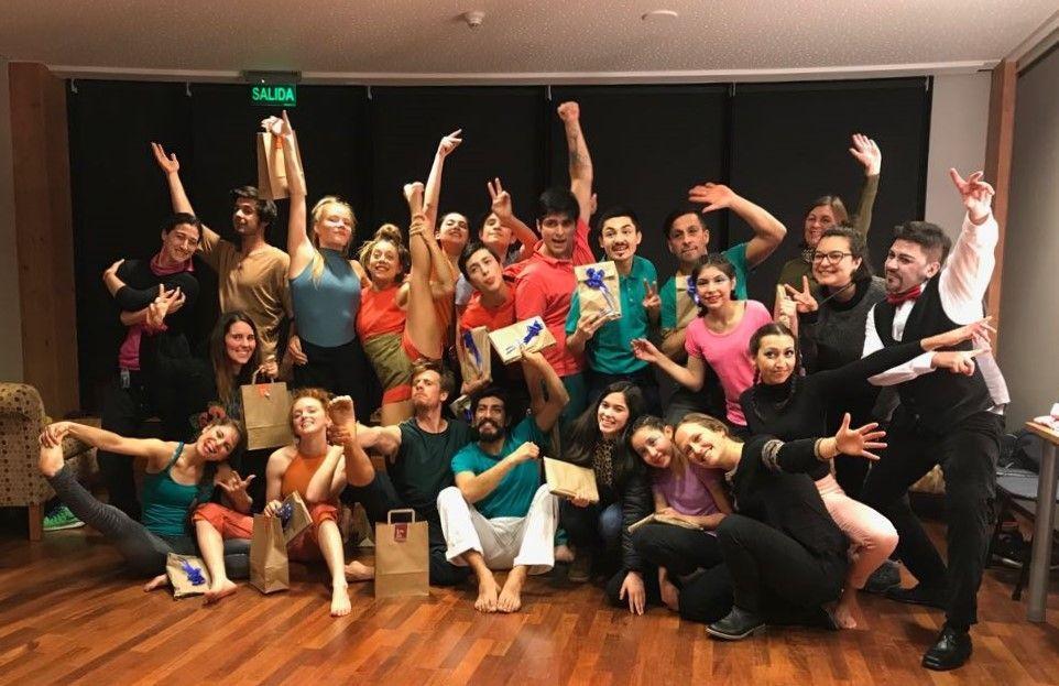 Encuentro con Maestros junto a FAUNA invitó a jóvenes de Circo Frutillar conectar con su pasión